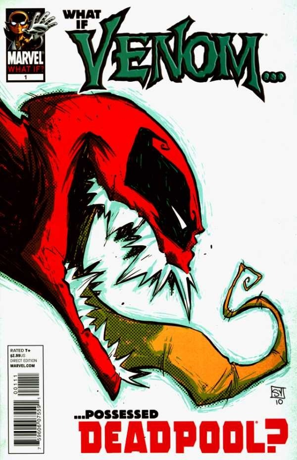 Deadpool Venom Dibujo