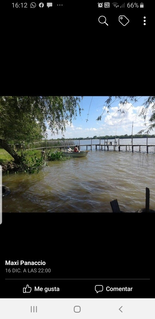 venra cabaña a orillas del río parana ibicuy entre ríos