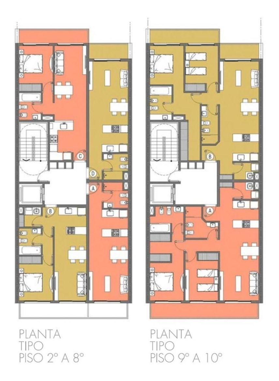 venta 1 dormitorio caferata 1545 - 48m2