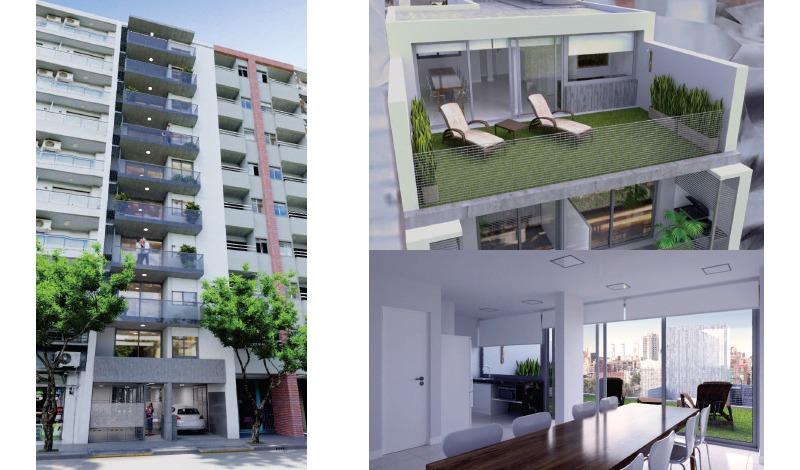 venta 1 dormitorio + patio a metros de oroño - la mejor zona - unidad amplia y comoda - financiacion