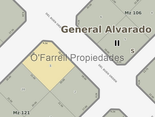 (venta 115) las lomas av. de las copetonas esq. av. del buen orden - miramar