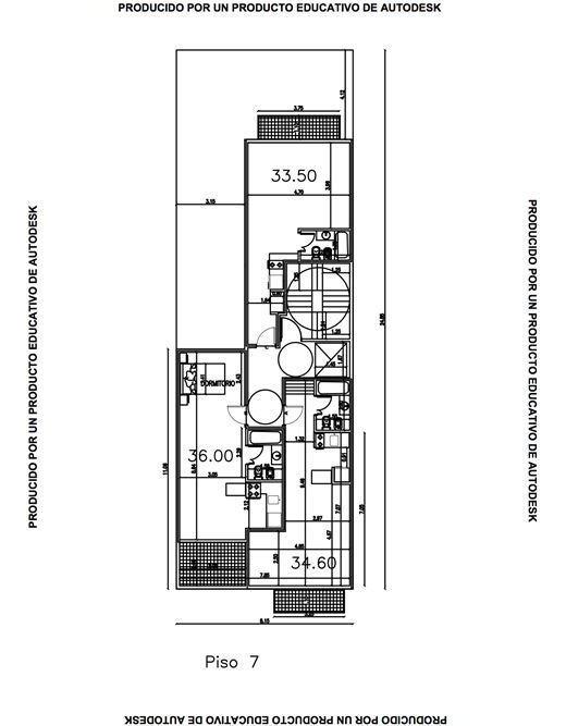 venta 2 ambientes al frente / pozo / belgrano