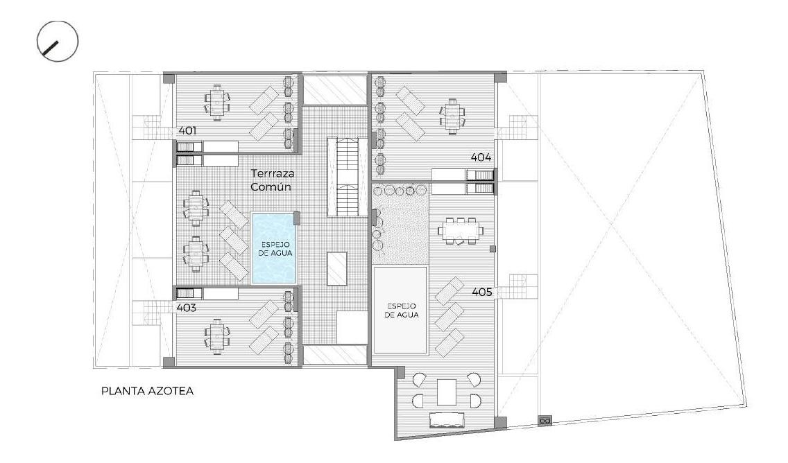 venta 2 ambientes con amplia terraza, parrilla propia. amenities
