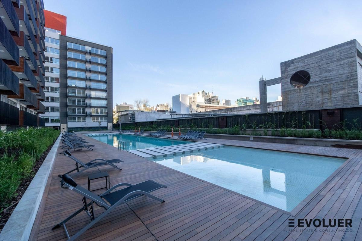 venta 2 ambientes de 40m2 a estrenar con cochera en quartier dorrego, palermo hollywood