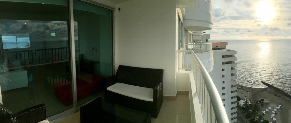 venta 2 habitaciones frente al mar cartagena
