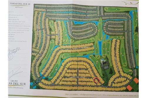 venta 2 terrenos en block en haras del sur iii