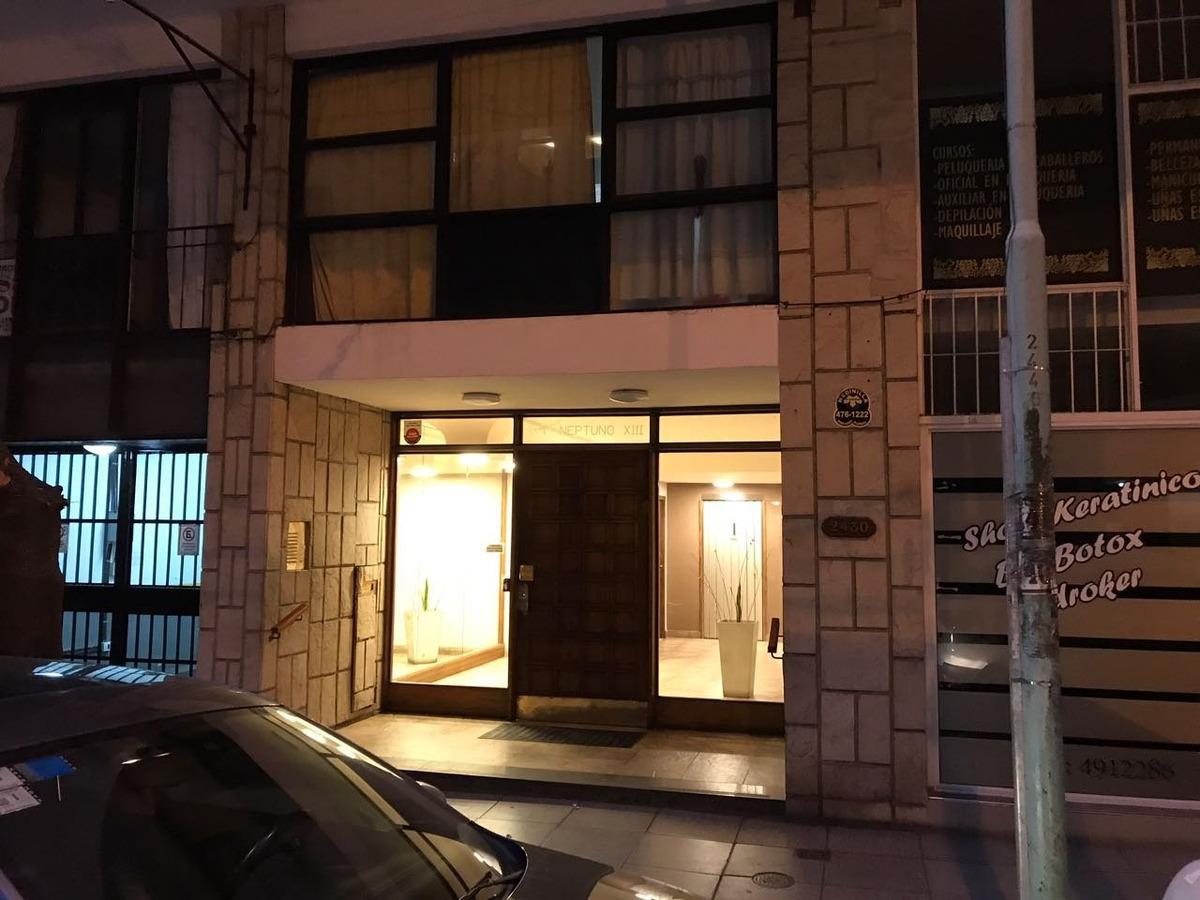 venta 3 amb. a la calle con balcón y opcion compra de cochera cubierta - zona guemes.