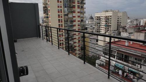 venta 3 amb al frente, balcón terraza, patio - flores