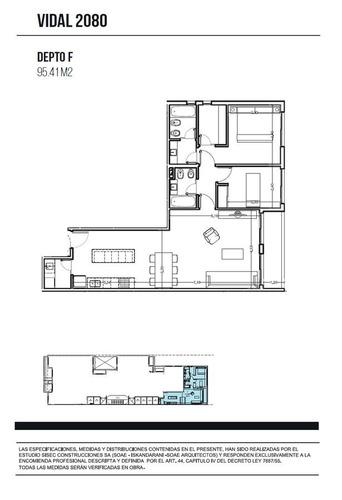 venta 3 amb balcón, amenities - en pozo   belgrano