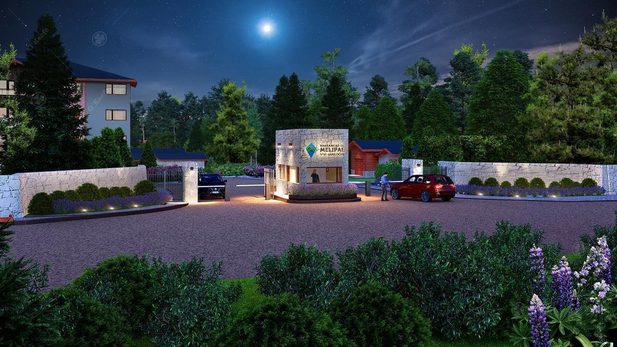 venta - 3 ambientes en barrio cerrado - barrancas de melipal 2, bariloche