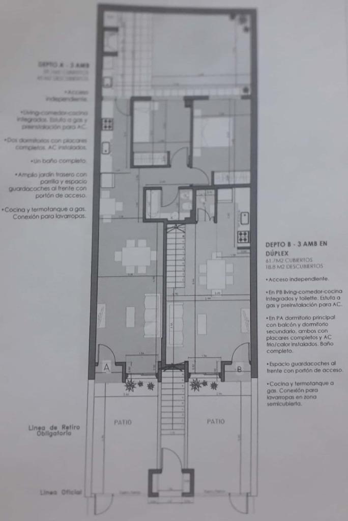venta 3 ambientes tipo ph sin expensas balcon cochera saavedra