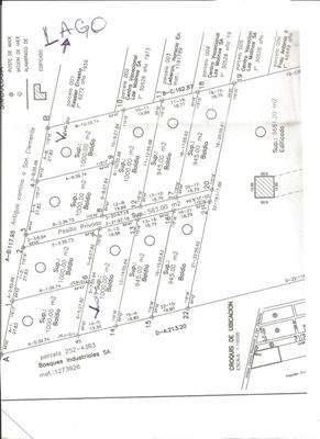venta  3 lotes-potrero de garay- escritura-1.000 m2.c/u.