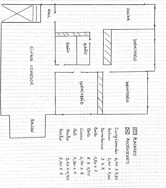 venta 4 ambientes con cochera fija en belgrano