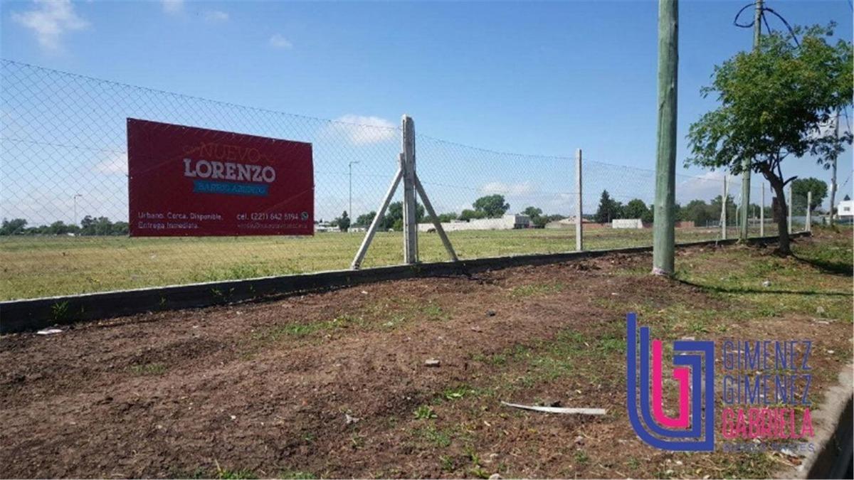 venta 80 y 23 terreno barrio nuevo lorenzo la plata