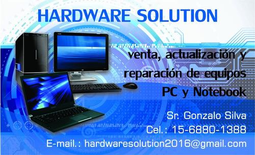venta, actualización y reparación de pcs y notebooks (lanus)