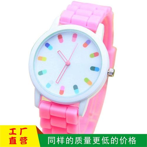 venta al por mayor cápsula de silicona reloj píldora mesa