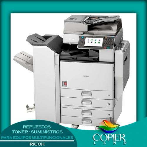 venta alquiler servicio de copiadora  ricoh savin lanier