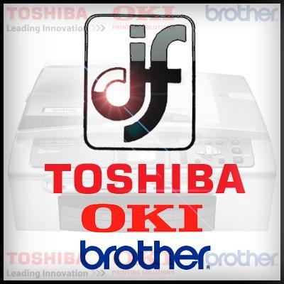 venta, alquiler, serv.téc,fotocopiadoras toshiba brother oki