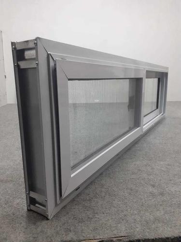 venta aluminio linea herrero 140x40 con mosquitero