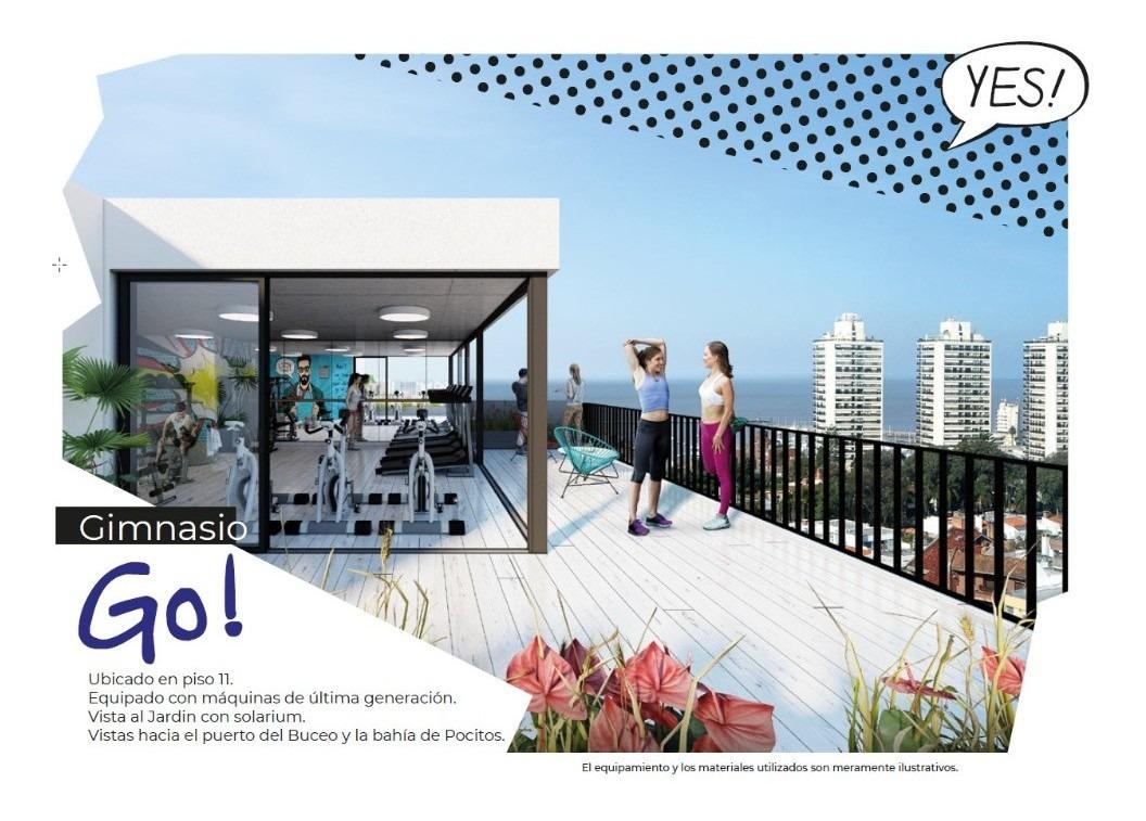 venta apartamento 1 dormitorio con patio pocitos montevideo