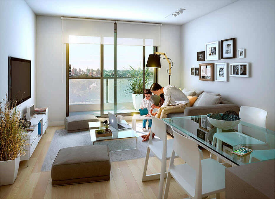 venta apartamento 1 dormitorio con terraza la blanqueada