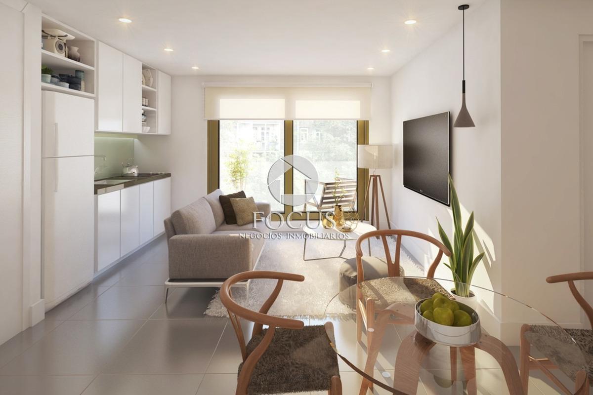 venta apartamento 1 dormitorio con terraza. prado