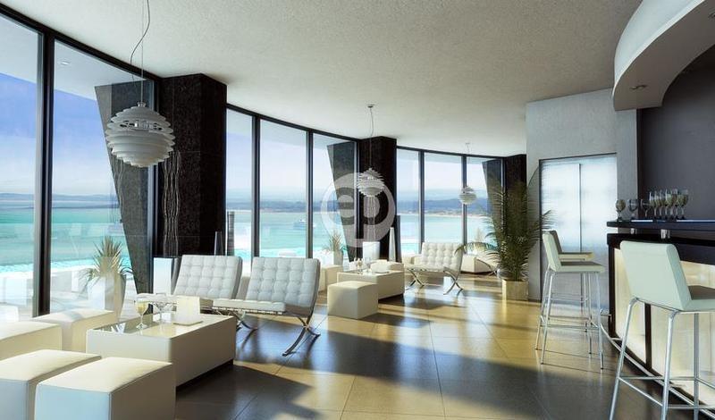 venta apartamento 1 dormitorio con vista al mar punta del este
