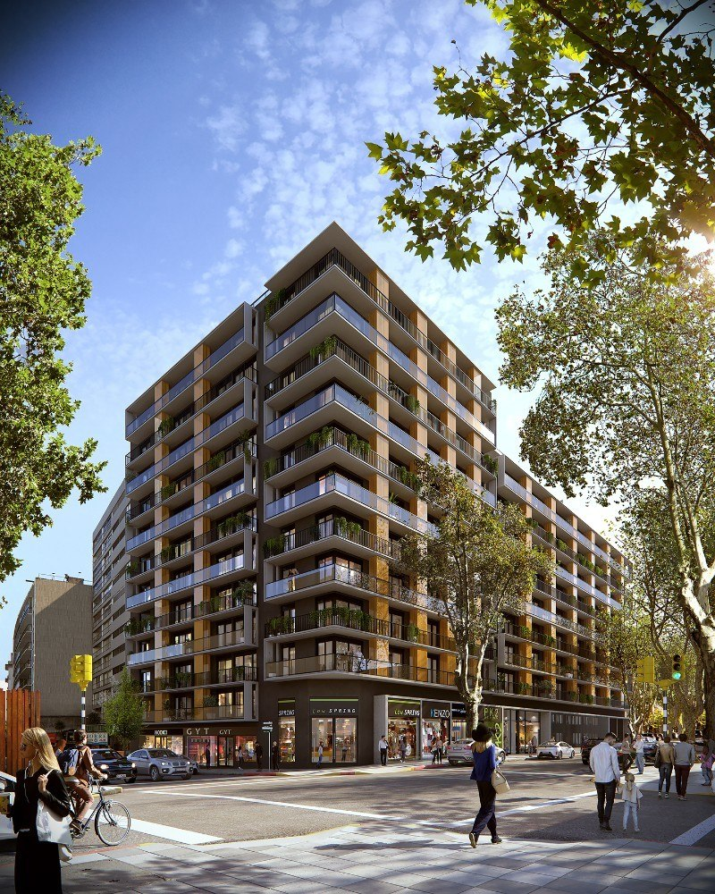 venta apartamento 1 dormitorio cordon design montevideo