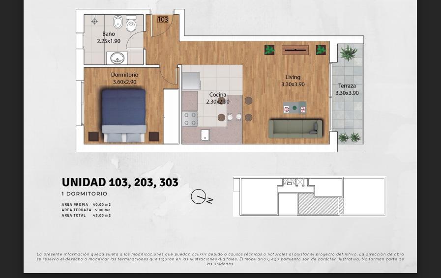 venta apartamento 2 dormitorios malvin. terrazas.px mar