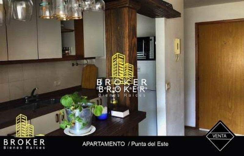 venta apartamento 2 dormitorios punta del este-ref:55