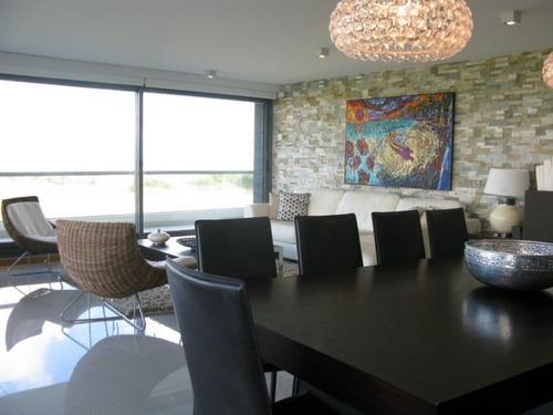 venta apartamento 3 dormitorios playa brava, punta del este