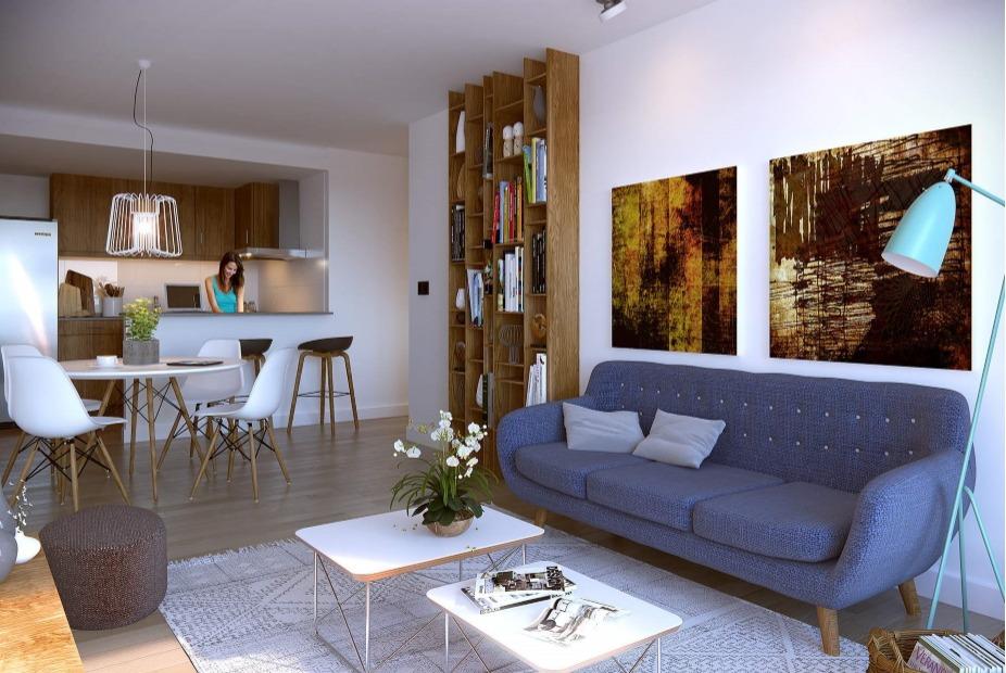venta apartamento de 2 dormitorios, ventura tres cruces 2