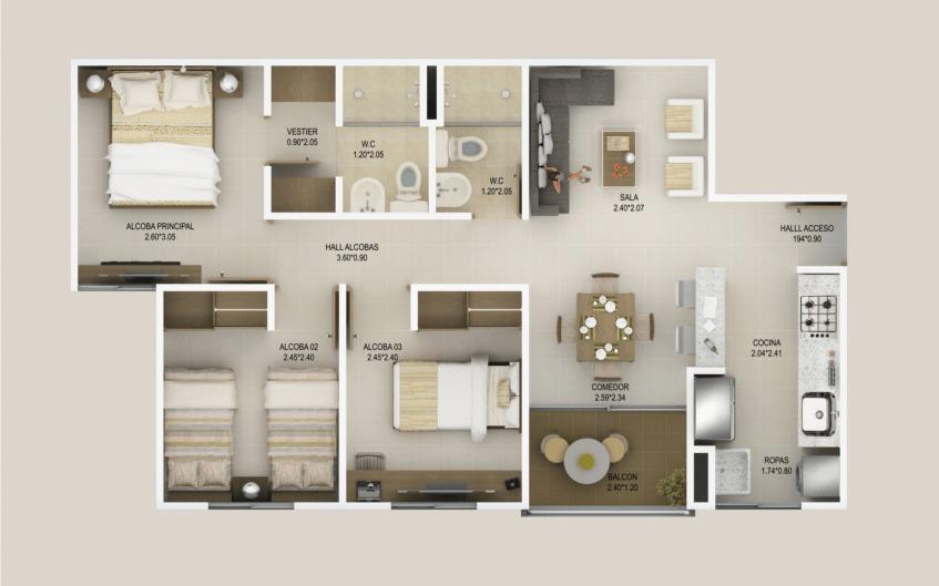 venta apartamento en altobelo, bello, oportunidad