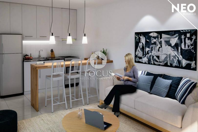 venta apartamento monoambiente con patio. pocitos
