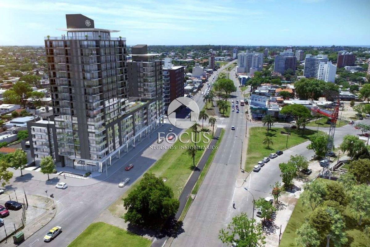 venta apartamento monoambiente con terraza. malvín