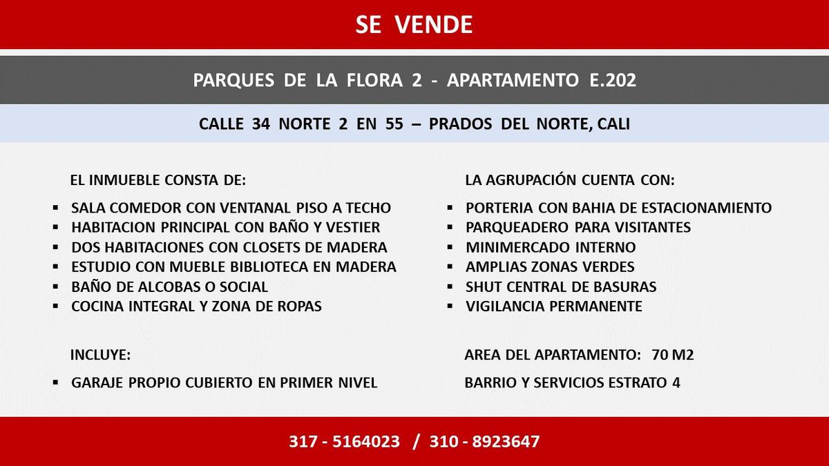 venta apartamento parques de la flora 2