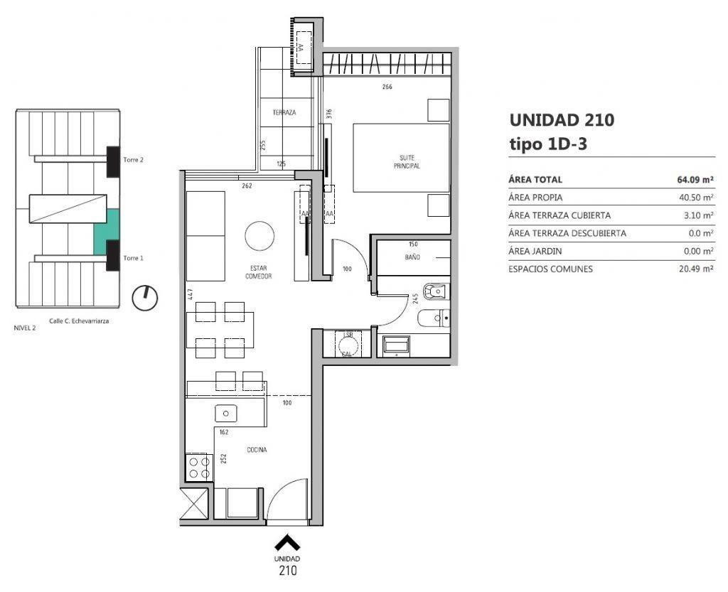 venta apartamento pocitos 1 dormitorio echevarriarza y luis a. de herrera ed. more echevarriarza
