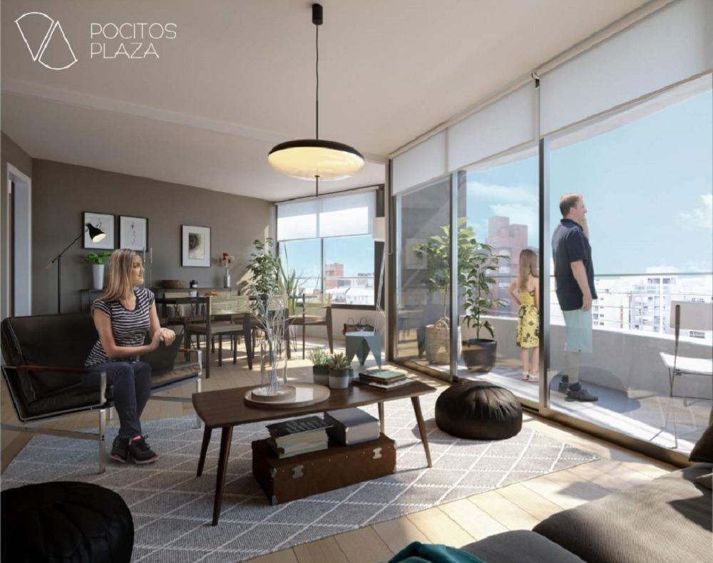 venta apartamento un dormitorio pocitos montevideo