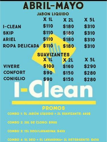 venta artículos de limpieza i-clean zona norte y caba