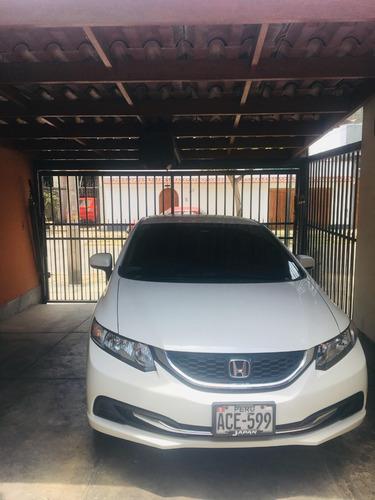 venta auto honda civic 2014 sedan - uso ejecutivo