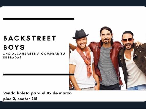 venta boleta backstreet boys en bogotá