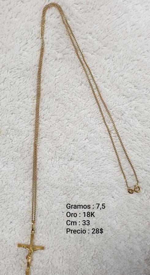 47a051b7aa59 Venta Cadena Oro 750 Italy 18k - Bs. 1.215.000