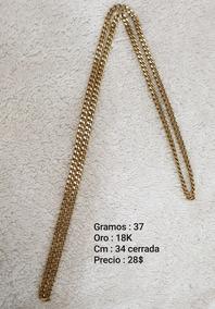 82054a32a207 Cadena De Oro Tejido Chino 18k Italy - Joyería y Bisutería Collares ...