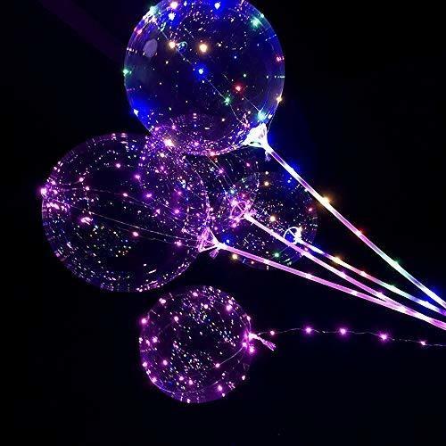 ¡venta caliente! deesee (tm) reutilizable luminoso led globo