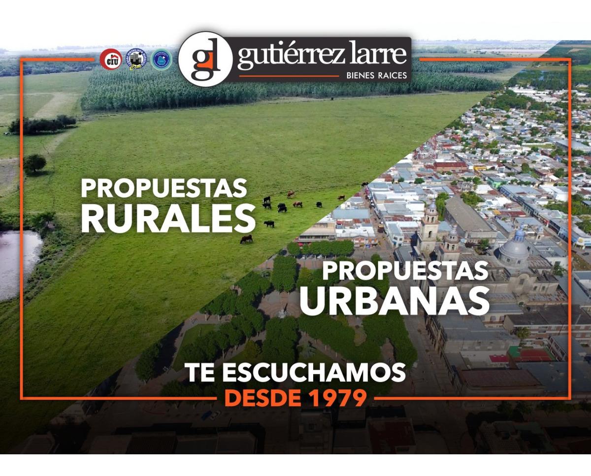 venta campo agrícola ganadero, 50 ha, próximo a ruta 1