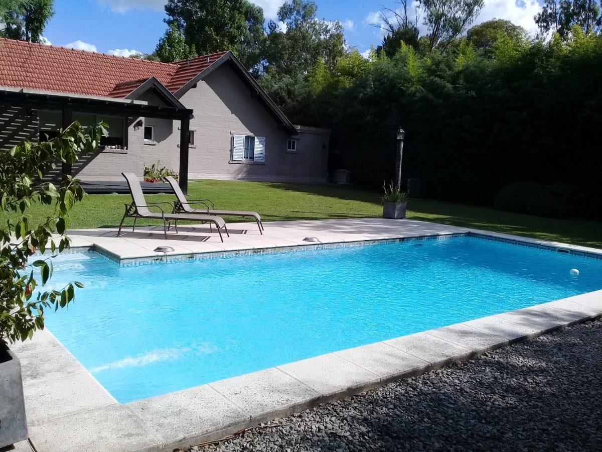 venta canning barrio cerrado casa 4 dorm, cochera y piscina!