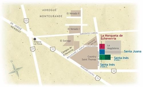 venta canning barrio cerrado lote central de 700 m2!