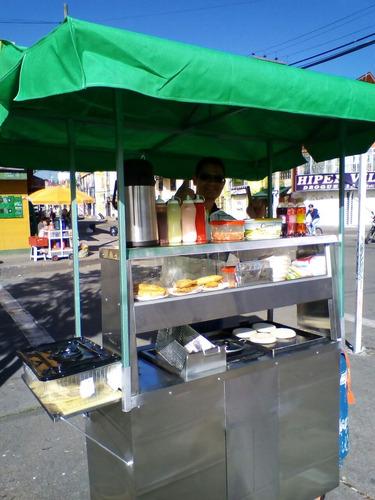 venta carrito de comida rapida