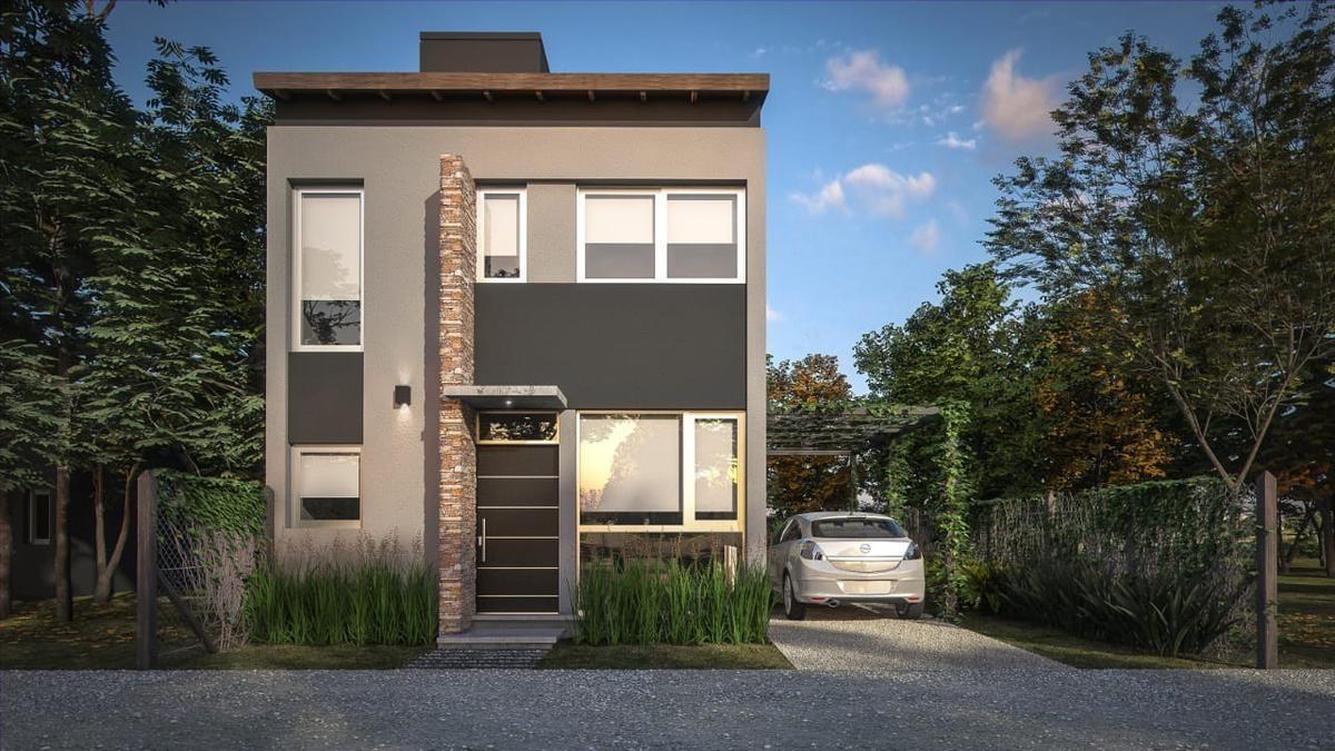 venta casa, 3 ambientes, jardin, cochera, barrio cerrado,  country, weekend, escobar