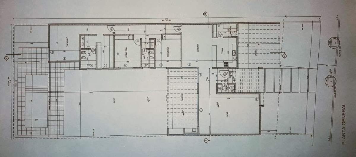 venta casa 3 dorm en una planta - santina norte